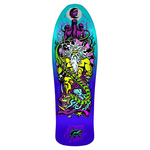 Santa Cruz Jessee Neptune Re-issue Deck (Purple Fade)