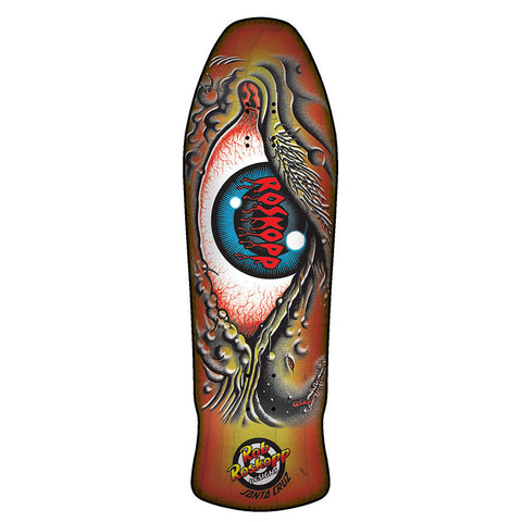 Santa Cruz Roskopp Eye Sunburst Re-issue Deck