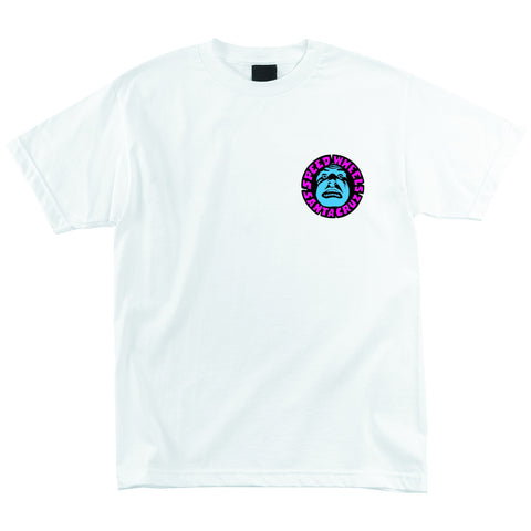 Santa Cruz Slimeballs Vomit Regular S/S Tee (White)