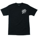 Santa Cruz Stabbed Hand Regular S/S Tee (Black)
