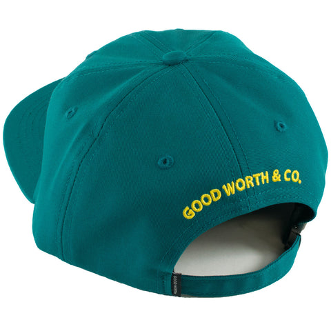 Good Worth Fish Strapback Hat (Teal)