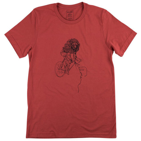 Welcome Cyclist S/S Tee (Rust)