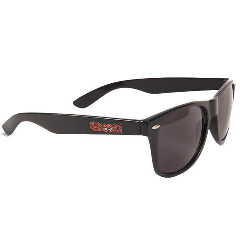 Krooked Eyes Sunglasses (Black/Red)