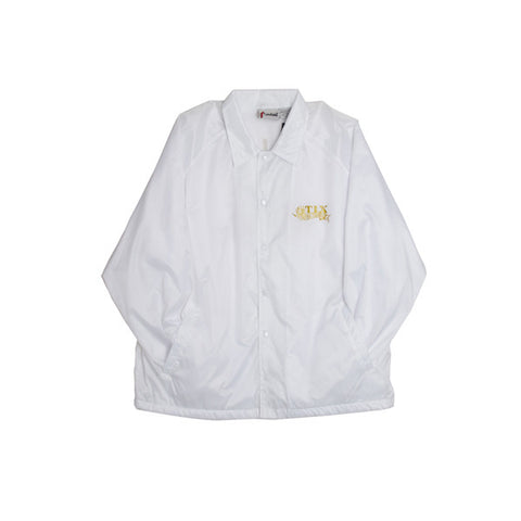 Stix Por Vida Smokers Jacket (White/Gold)