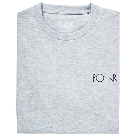 Polar Fill Logo S/S Tee (Sports Grey)
