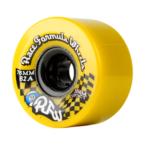 Sector 9 Race Formula Wheels (76mm/78a/Yellow)