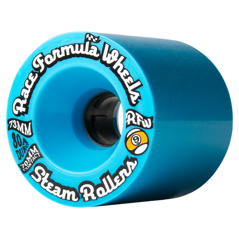 Sector 9 Race Steam Roller Wheels (73mm/78a/Blue)