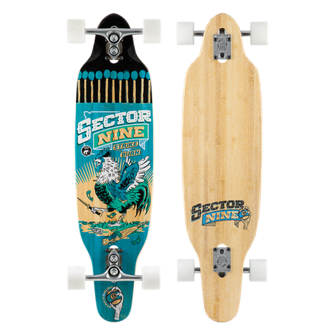 Sector 9 Striker Longboard (Complete/Blue)