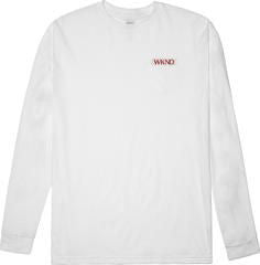 Wknd Silky Smooth L/S Tee (White)