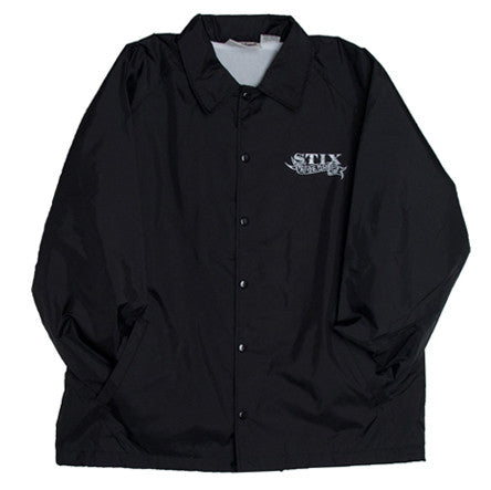 Stix Por Vida Coach Jacket (Black/Grey)