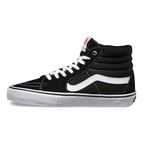 Vans Mens Sk8-Hi Reissue Pro Shoes (Black/White/Gum)