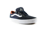 Vans Mens Gilbert Crocket Pro Shoes (Navy/White/Leather)