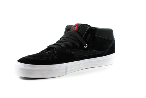 Vans Mens Half Cab Pro Shoes (Black/Red/Charcoal)