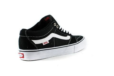 Vans Mens TNT SG Shoes (Black/White)