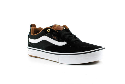 Vans Mens Kyle Walker Pro Shoes (Black/White/Gum)