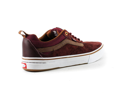 Vans Mens Kyle Walker Pro Shoes (Red Dalia)