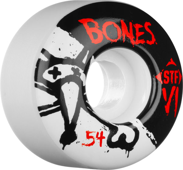 Bones V1 Series Wheels (STF/V1/White)