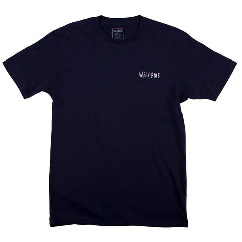 Welcome Talisman S/S Tee (Navy/White)