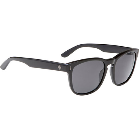 Spy Crosstown Collection Beachwood Sunglasses (Black/Grey Polarized Lens)