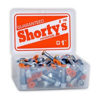 "Shortys Single Hardware Bolt and Nut (1""/Phillips/Orange Tip)"