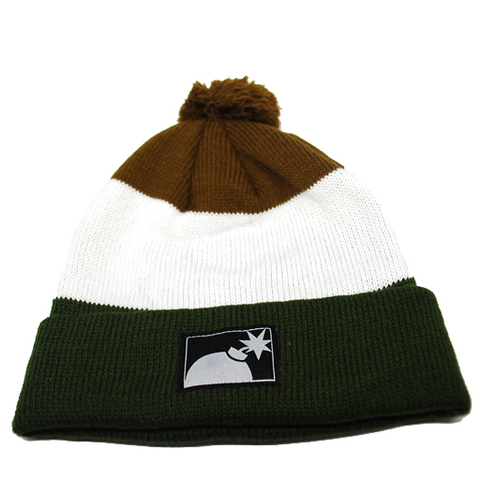 The Hundreds Tres Beanie (Brown)
