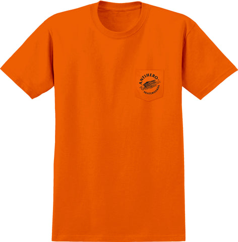 Anti Hero Antieagle S/S Tee (Orange/Black)