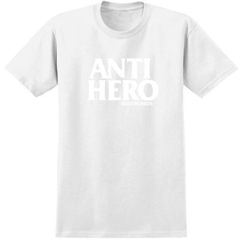 Anti Hero Blackhero S/S Tee (White/White)