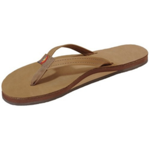 Rainbow Girls Premier Sandals (Sierra Brown/Single/Narrow Strap)