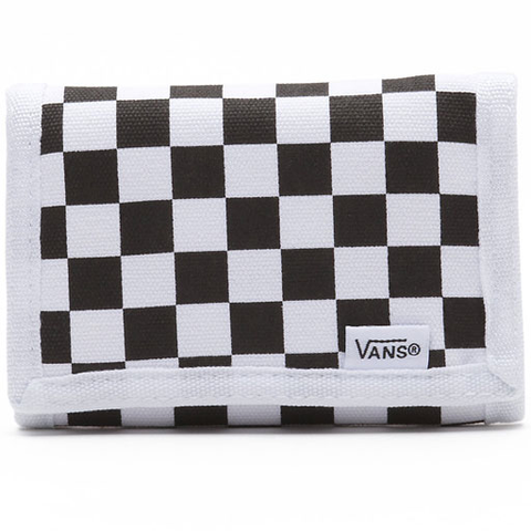 Vans Mens Slipped Wallet (Black/White)