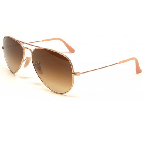 Ray Ban Aviator Large Metal Sunglasses (58f/Gold/Bronze Lens)