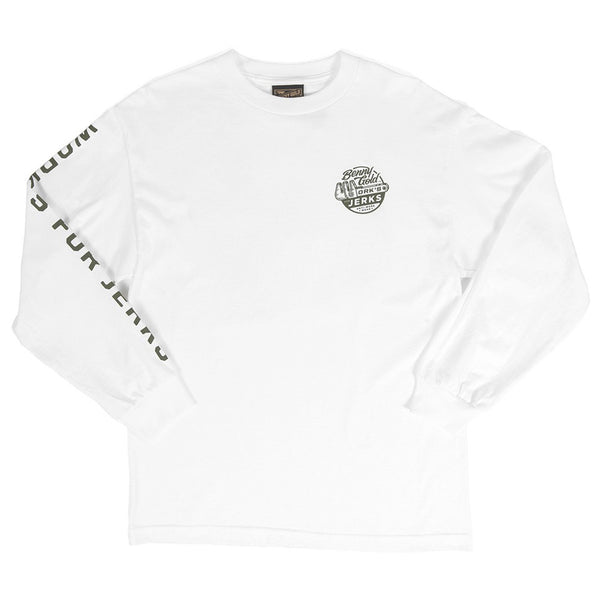 Benny Gold Wrench L/S Tee (White)