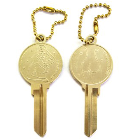Good Worth Heads/Tails Key (Brass)
