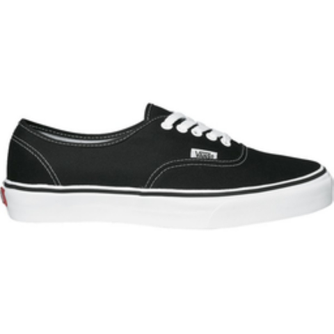 Vans Youth Authentic Shoes (Black)