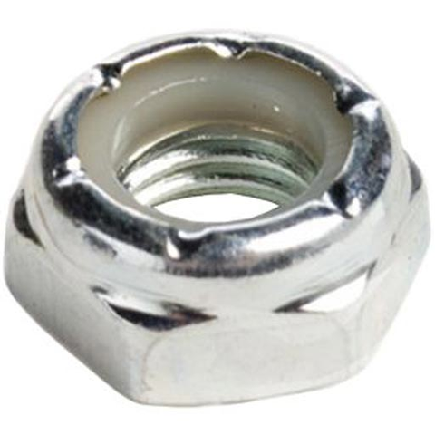 Shortys Axle Nut (Silver/Sold Individually)
