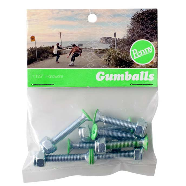 "Penny Gumball 1.125"" Hardware (Green)"