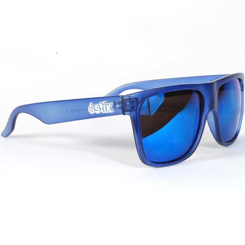 Stix Player Sunglasses (Translucent Navy/Blue)