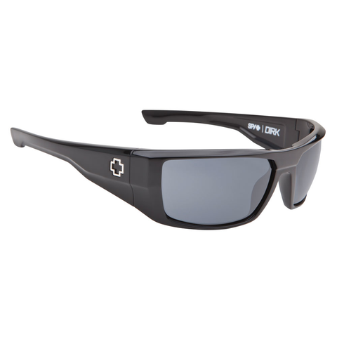 Spy Dirk Sunglasses (Black/Grey Lens)