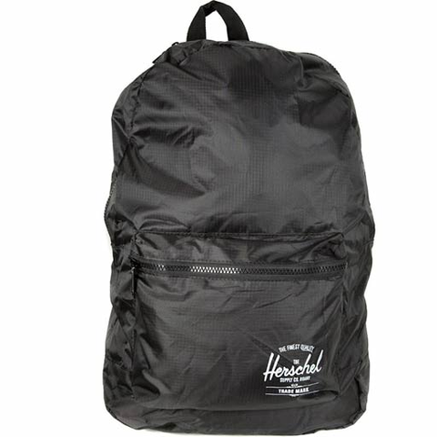 Herschel Packable Daypack Backpack (Black)