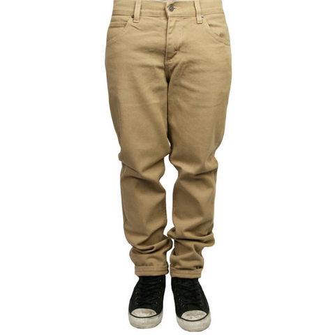 Rustic Dime Slim Fit Denim (Khaki)