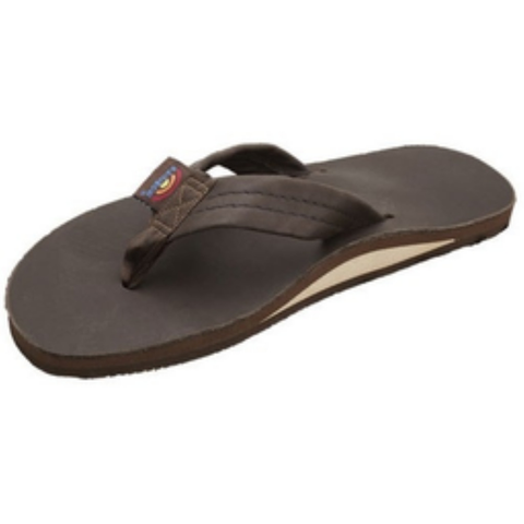 Rainbow Girls Premier Sandals (Expresso/Single/Wide Strap)