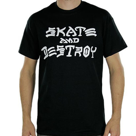 Thrasher Skate And Destroy S/S Tee (Black)