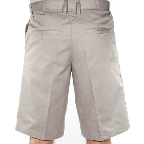 Stix Chantry Chino Shorts (Light Heather Grey)