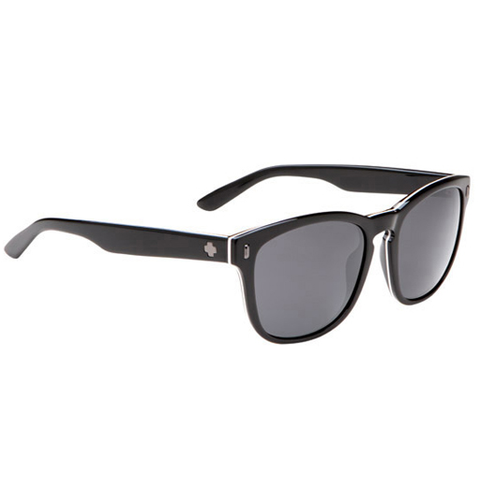 Spy Crosstown Collection Beachwood Sunglasses (3-Ply Black/Grey Lens)