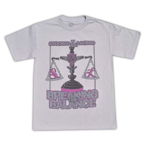 Stocked and Locked Breaking the Balance Tee (Scour)