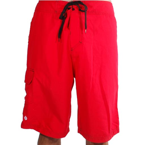Stix Onofre Boardshorts (Red)