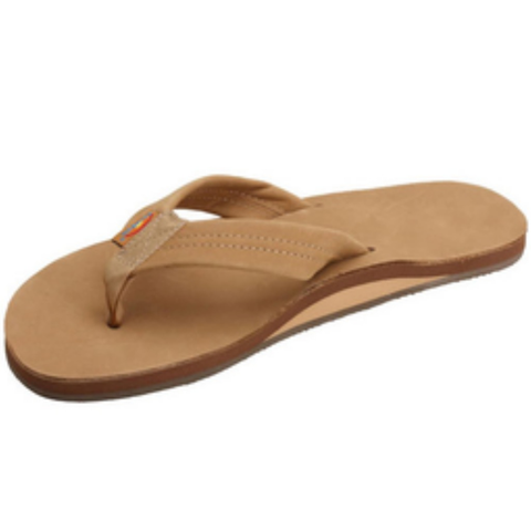 Rainbow Mens Premier Sandals (Sierra Brown/Single/Wide Strap)