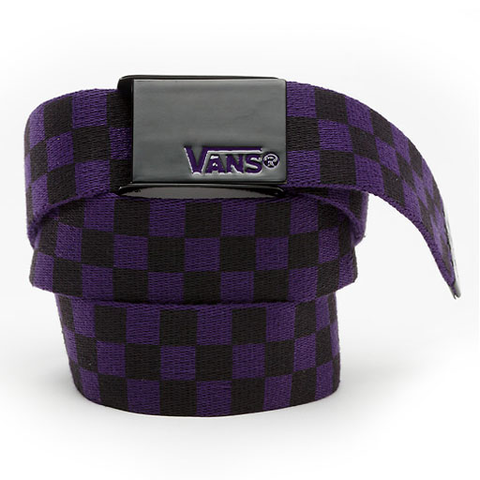Vans Deppster Web Belt (Black/Purple)