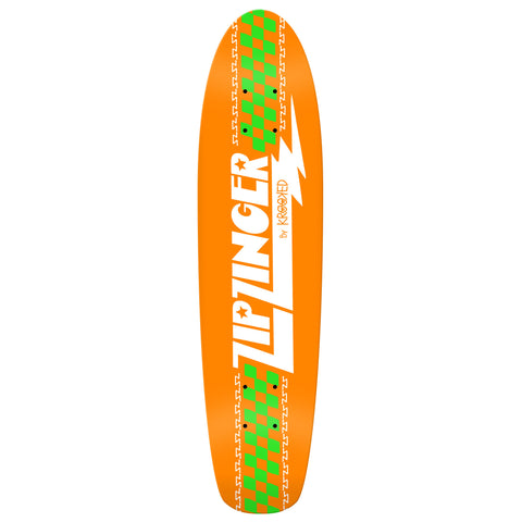 Krooked Zip Zinger Classic Original Deck (Orange)