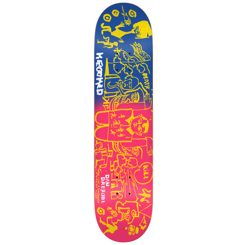 Krooked Drehobl Faded Deck