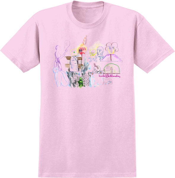 Krooked Tit For Tat S/S Tee (Pink)